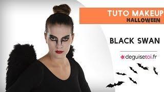 Tutoriel maquillage black swan , Deguisetoi.fr