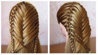 Coiffure pour tous les jours cheveux mi long/long