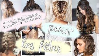 COIFFURES POUR LES FÊTES ORIGINALES !!