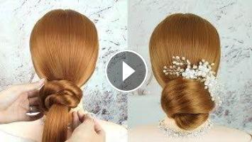 Diy Wedding Updos For Medium Length Hair Bridal Updo