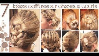 ➳ 7 idées Coiffures sur Cheveux COURTS (longueur épaules) | L.A Hairstyle Inspiration